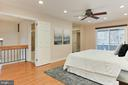 Wood floors, recessed lighting, & ceiling fan - 2071 WETHERSFIELD CT, RESTON