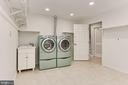 Huge storage area with laundry! - 2071 WETHERSFIELD CT, RESTON