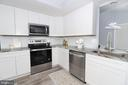 Updated New Kitchen - 219 W MEADOWLAND LN, STERLING