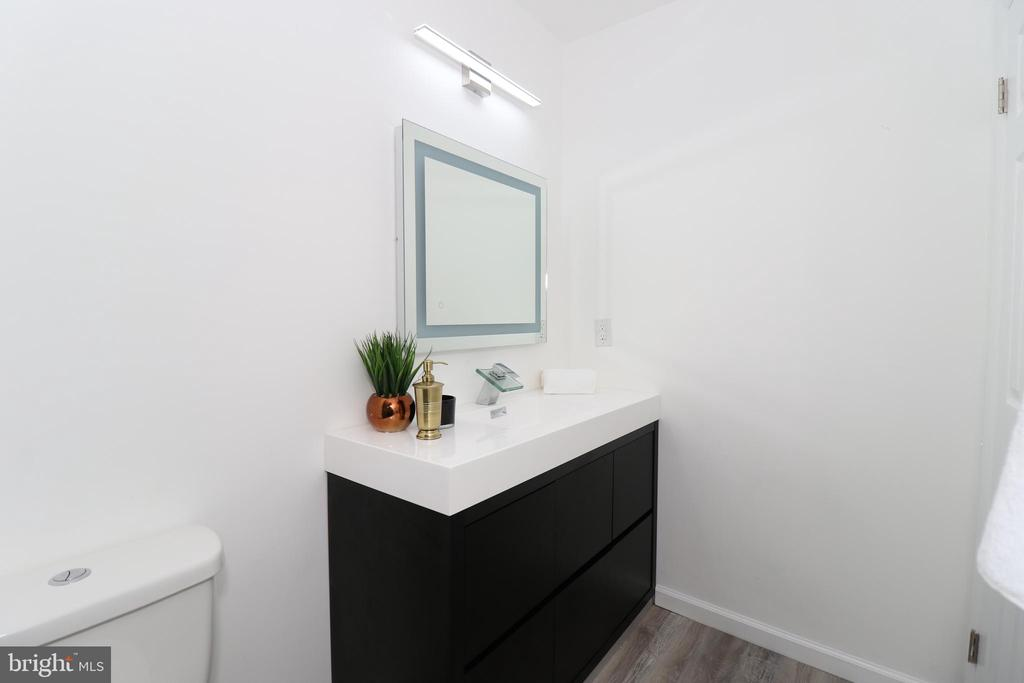 Luxurious Master bathroom - 219 W MEADOWLAND LN, STERLING