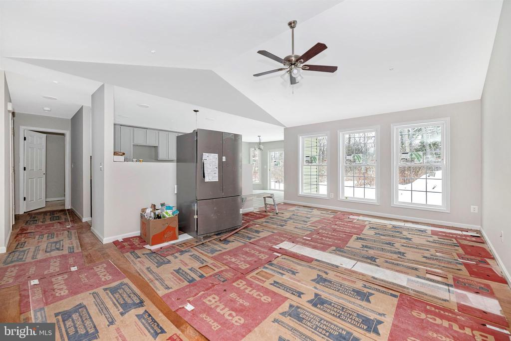 Living Room/Kitchen nearing completion - 13 CLARK AVE, THURMONT
