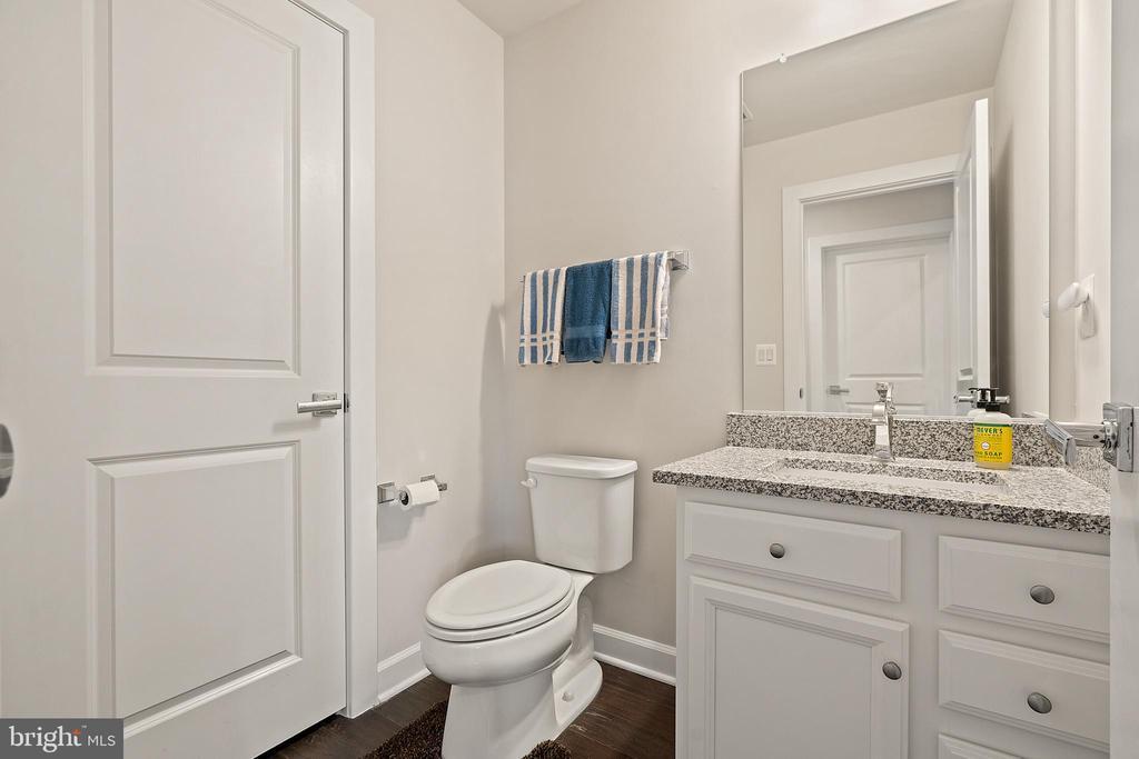 Lower Level Half Bathroom - 1614 ROCKY SHALE TER SE, LEESBURG