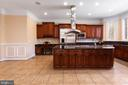 Huge Island with Cooktop and Vent - 6500 BRIARCROFT ST, CLIFTON