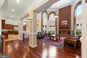 Two Story Family Room - 6500 BRIARCROFT ST, CLIFTON
