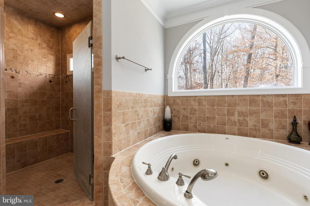 Huge Walk In Shower with Seat - 6500 BRIARCROFT ST, CLIFTON