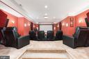 Theater Room - 6500 BRIARCROFT ST, CLIFTON