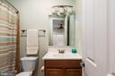 Upper Full Bath - 6500 BRIARCROFT ST, CLIFTON