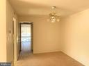 Dining Room leads to Primary Bedroom - 10222 BUSHMAN DR #8123, OAKTON