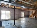 full unfinished basement - 334 BASS LN, WINCHESTER