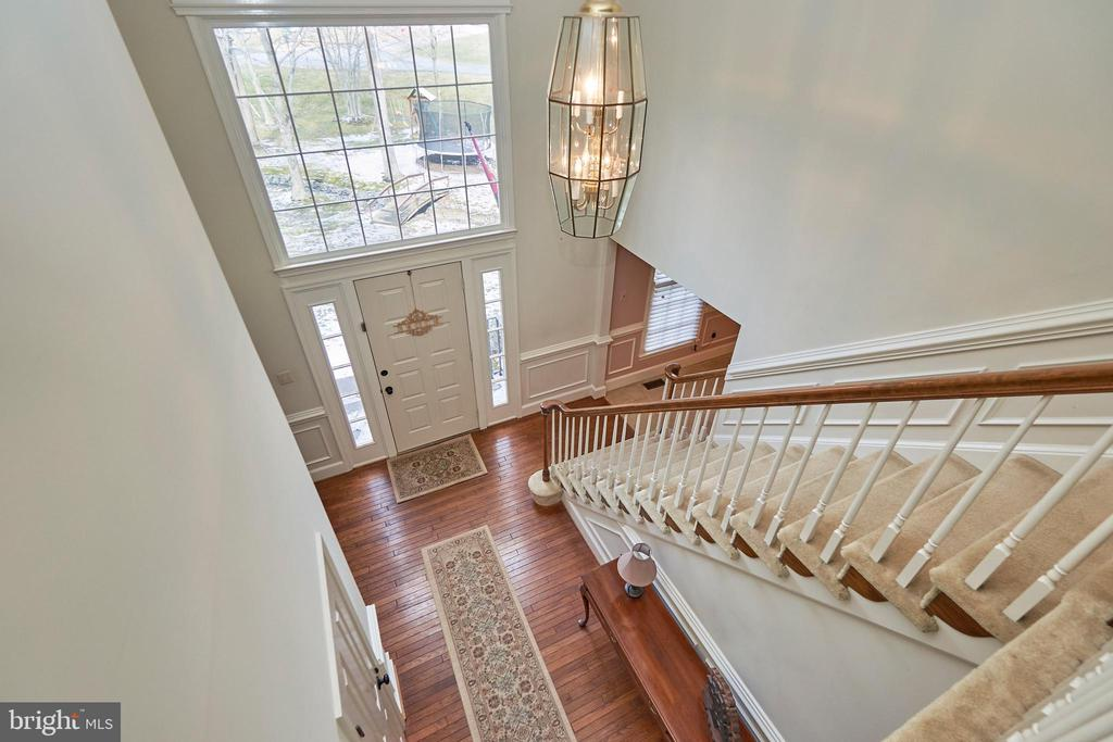 View from Upper Level - 12693 CROSSBOW DR, MANASSAS