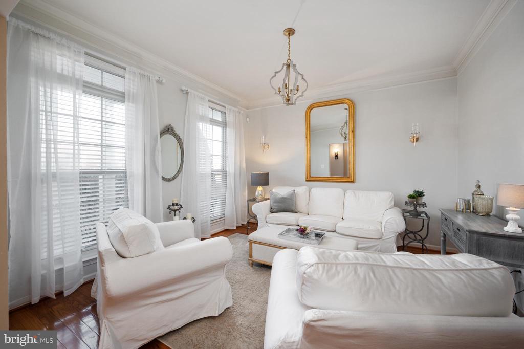 Formal Living Room at front of  home - 2140 IDLEWILD BLVD, FREDERICKSBURG