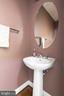 Powder room in main level - 21382 FAIRHUNT DR, ASHBURN