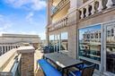 Private 363 sq foot balcony - 801 PENNSYLVANIA AVE NW #1026, WASHINGTON