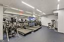 Newly renovated gym w/peloton +cardio - 801 PENNSYLVANIA AVE NW #1026, WASHINGTON