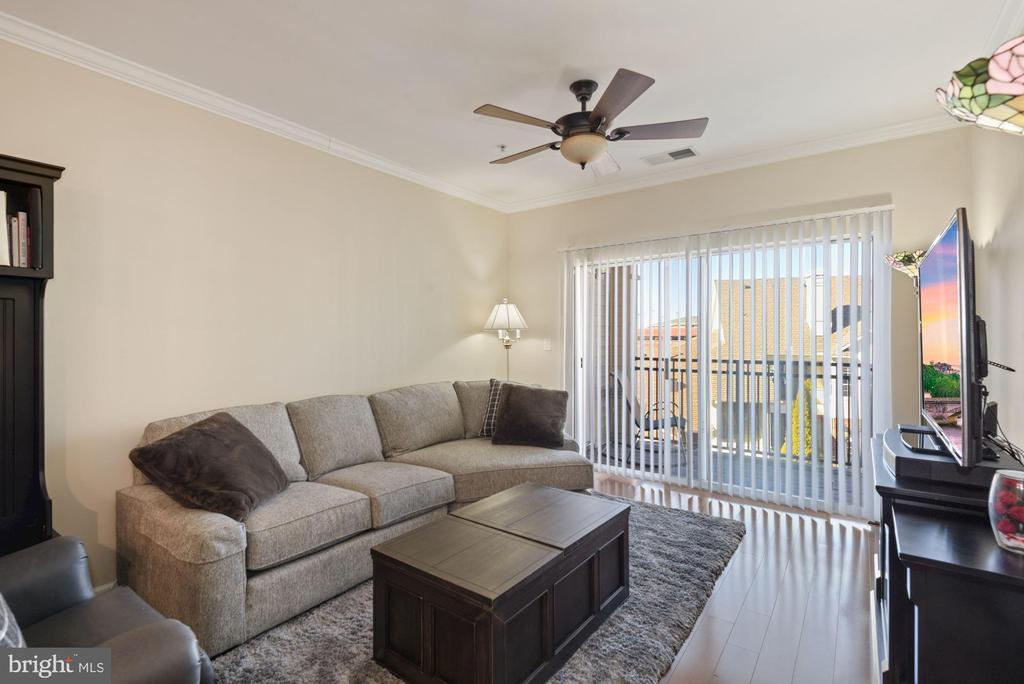 Unit 304- spacious living room - 12954 CENTRE PARK CIR #304, HERNDON