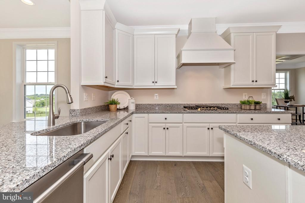 Kitchen with optional Cabinetry Hood - 6625 ACCIPITER DR, NEW MARKET