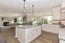 Kitchen open to Family Room - 6625 ACCIPITER DR, NEW MARKET