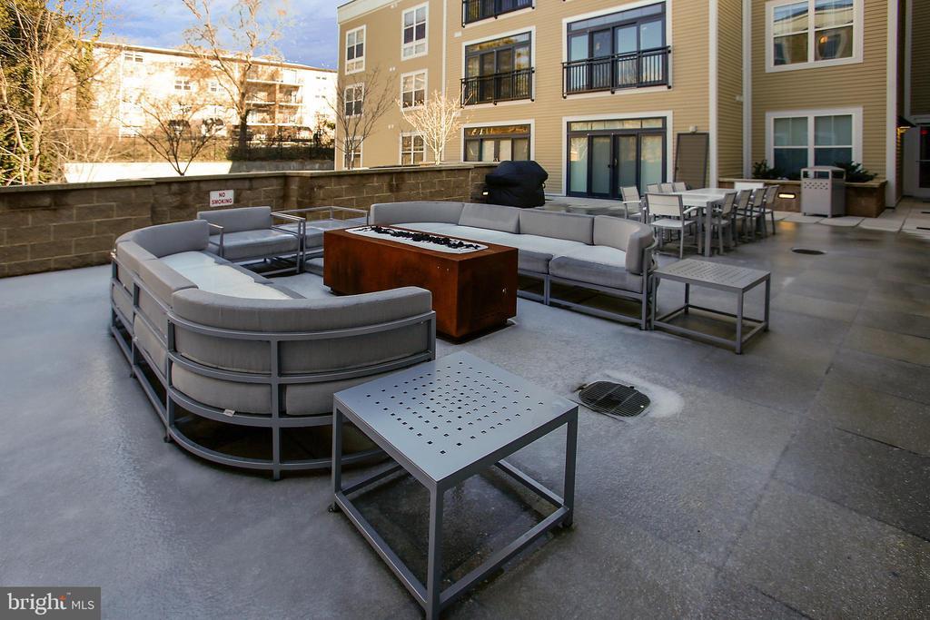 Outside Lounge Area - 989 S BUCHANAN ST #401, ARLINGTON