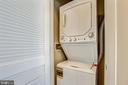 Washer & dryer - 989 S BUCHANAN ST #401, ARLINGTON