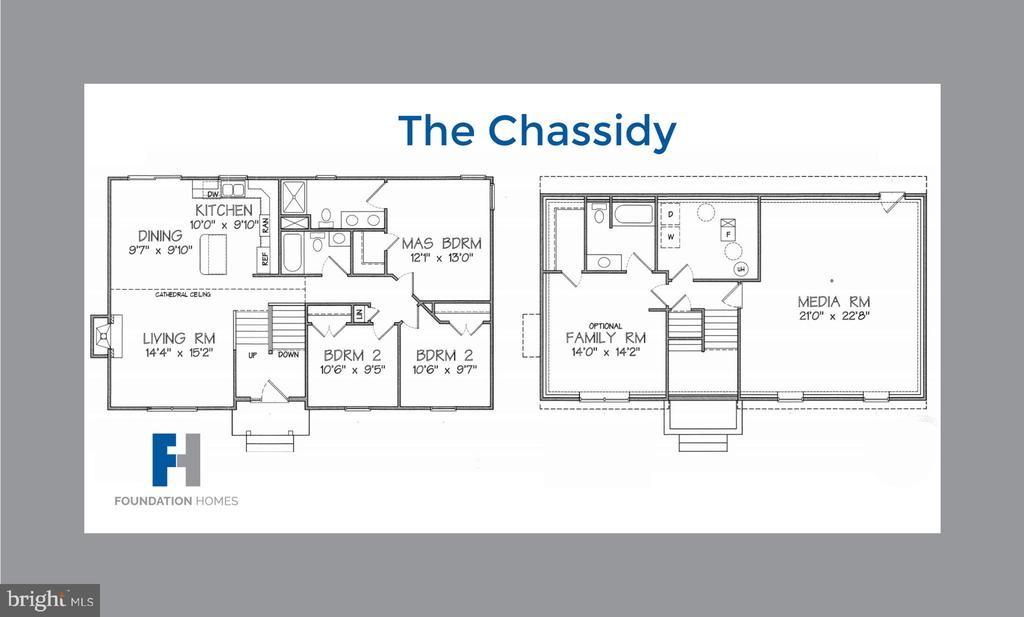 Floor Plan - The Chassidy - 121 GOLD RUSH DR, LOCUST GROVE