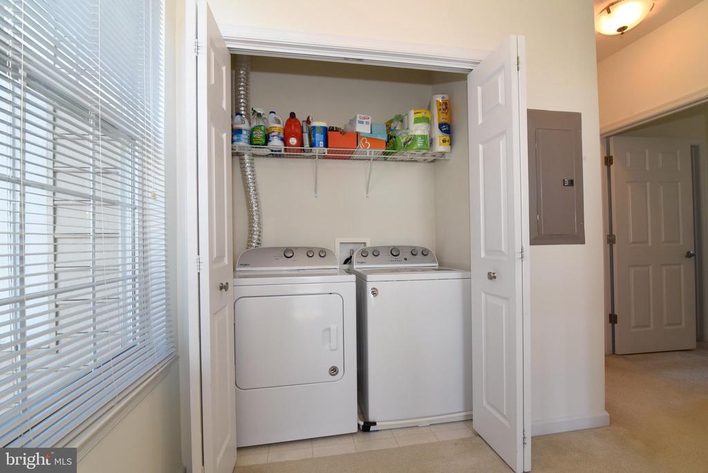 Laundry on Bedroom Level - 43415 MADISON RENEE TER #120, ASHBURN