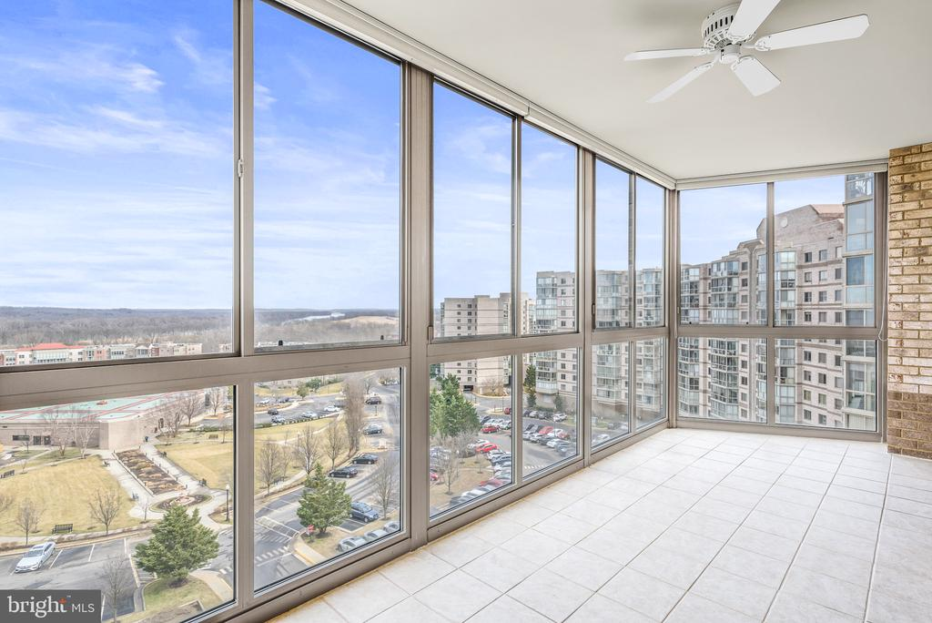 Enjoy this spectacular view from corner unit! - 19365 CYPRESS RIDGE TER #707, LEESBURG