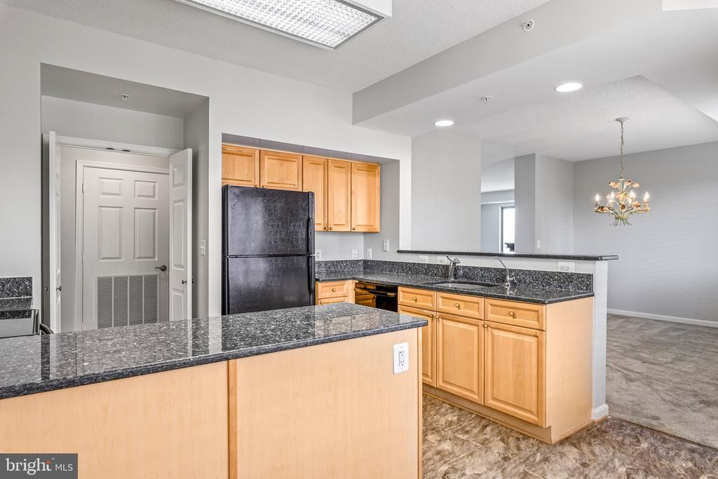 LOTS of countertop space! - 19365 CYPRESS RIDGE TER #707, LEESBURG