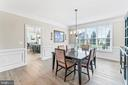 Formal dining room - 12802 GLENDALE CT, FREDERICKSBURG