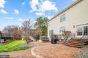 Large paver patio - 12802 GLENDALE CT, FREDERICKSBURG