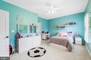 Princess suite with own full bathroom - 12802 GLENDALE CT, FREDERICKSBURG