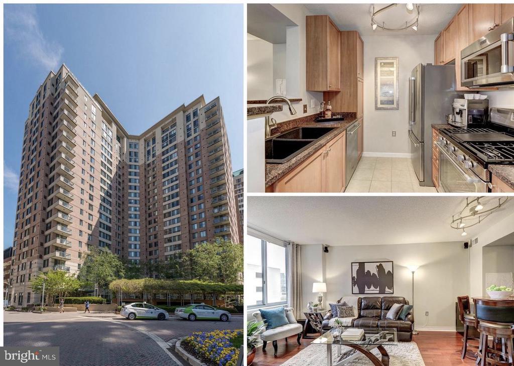 Beautiful One Bedroom Condominium - 851 N GLEBE RD #416, ARLINGTON