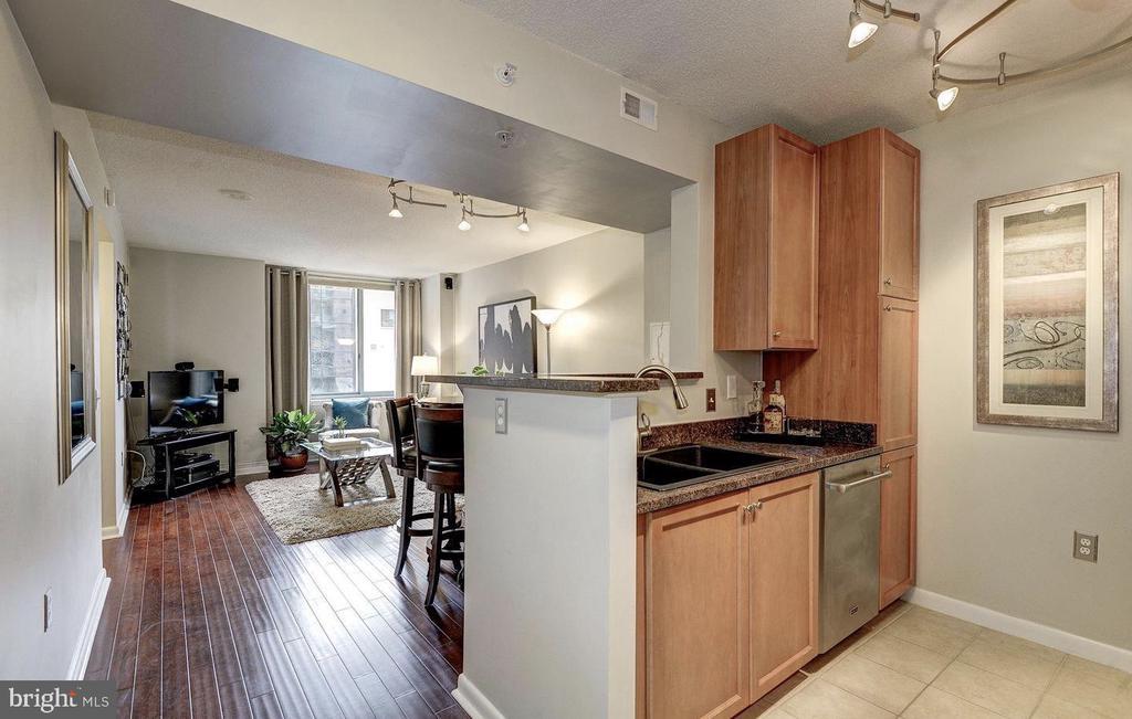 Beautiful Hardwood Floors and Large Windows - 851 N GLEBE RD #416, ARLINGTON