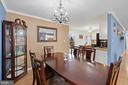 Plenty of space for a substantial dining table - 603 S DOGWOOD ST, STERLING