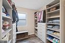Amazing custom-built walk-in closet! - 603 S DOGWOOD ST, STERLING