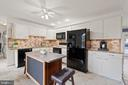 Generously sized kitchen, lots of counter space - 603 S DOGWOOD ST, STERLING