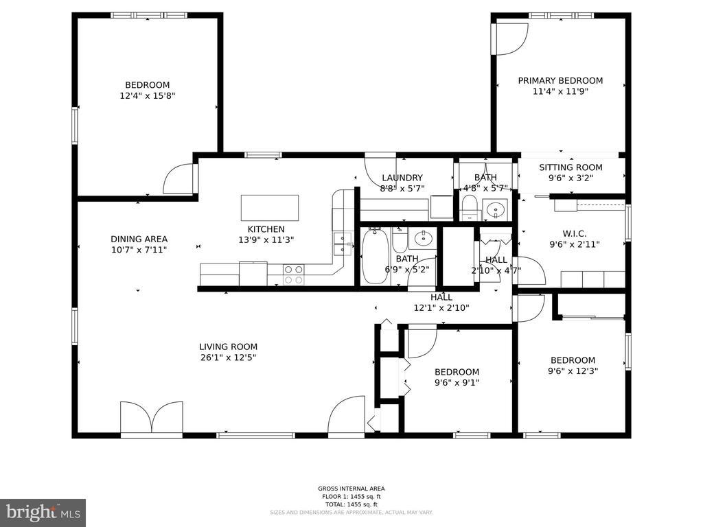 Floorplan - 603 S DOGWOOD ST, STERLING