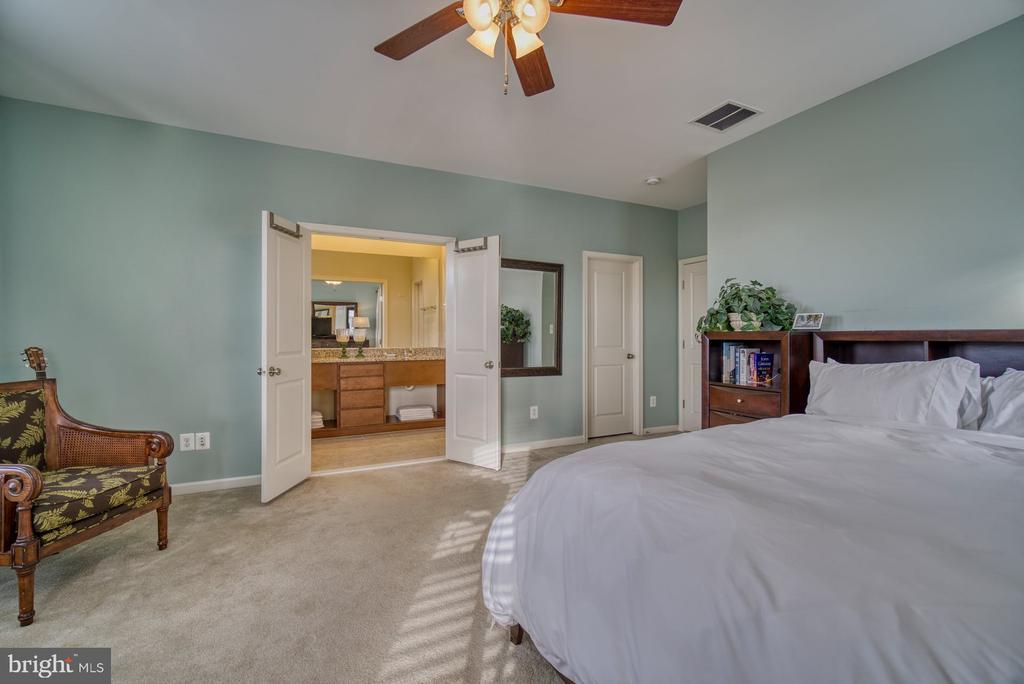Primary Suite has Large Walk-In Closet - 22908 BOLLINGER TER, ASHBURN