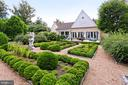 Rear view of Main Residence from Gardens - 21281 BELLE GREY LN, UPPERVILLE