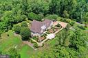 Aerial view of Residence - 21281 BELLE GREY LN, UPPERVILLE