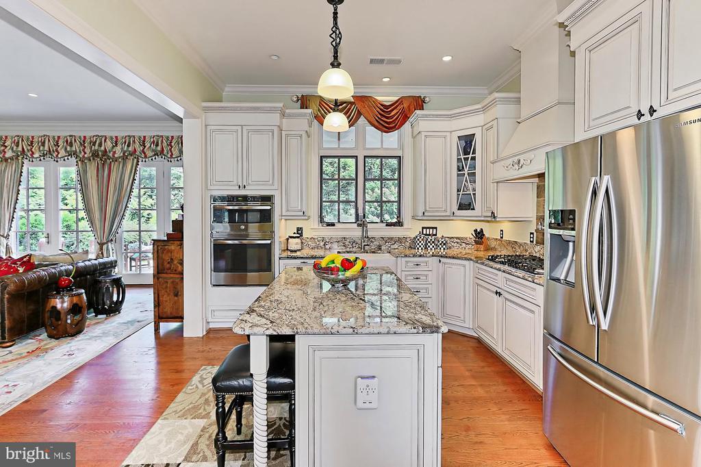Main Residence Kitchen - 21281 BELLE GREY LN, UPPERVILLE