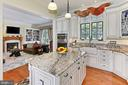 Main Residence Kitchen - 21281 BELLE GREY LN, UPPERVILLE
