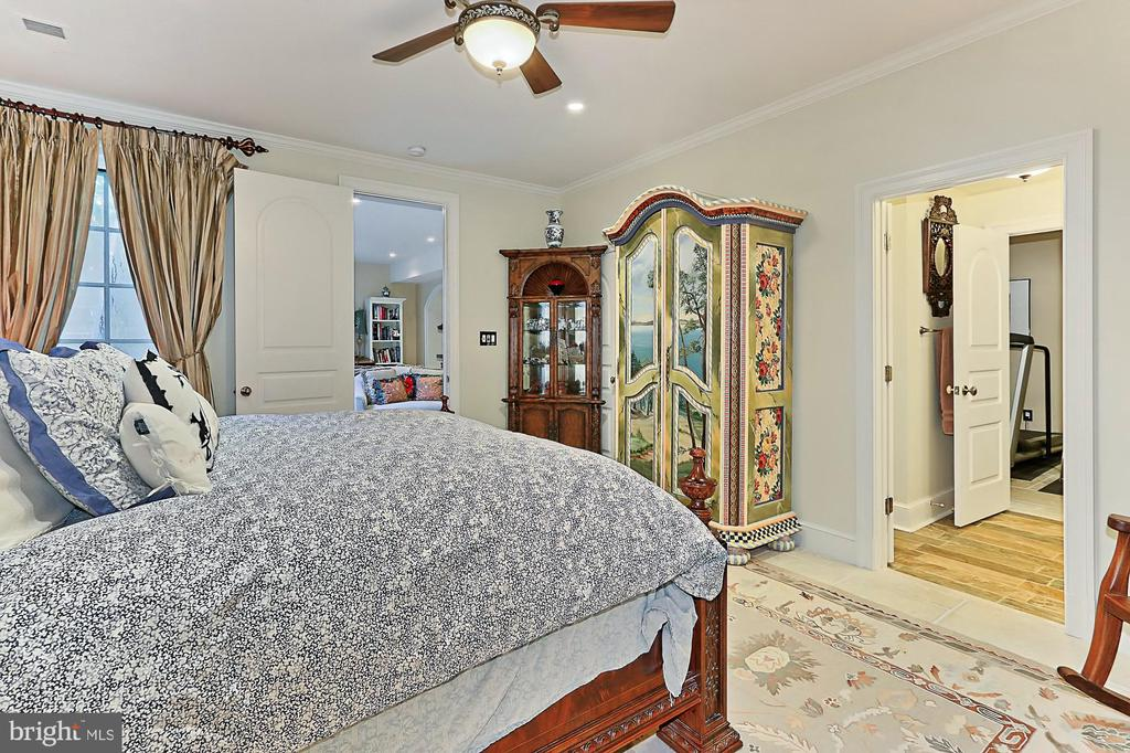 Lower Level Bedroom  in Main Residence - 21281 BELLE GREY LN, UPPERVILLE
