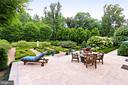 Patio off Living room at main Residence - 21281 BELLE GREY LN, UPPERVILLE