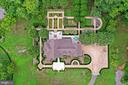 Areal view of Main Residence - 21281 BELLE GREY LN, UPPERVILLE