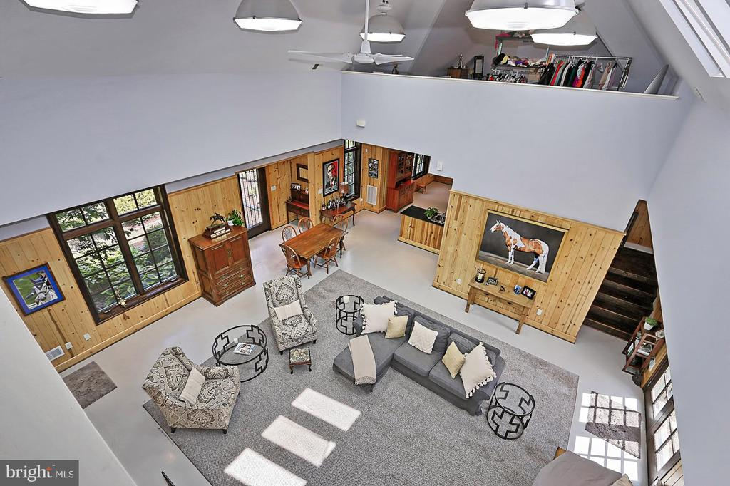 View of Living area in Managers Home - 21281 BELLE GREY LN, UPPERVILLE