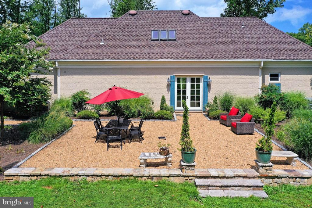 Rear Patio at managers Home - 21281 BELLE GREY LN, UPPERVILLE