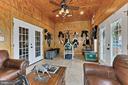 tack room in Show barn - 21281 BELLE GREY LN, UPPERVILLE