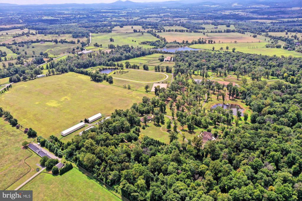 Overview of Belle Grey Farm on 122  Acres - 21281 BELLE GREY LN, UPPERVILLE
