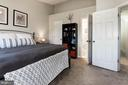 Owner's Bedroom with large walk-in closet - 46880 CLARION TER #200, STERLING
