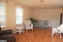 Such a large living room - 7050 BASSWOOD RD #11, FREDERICK